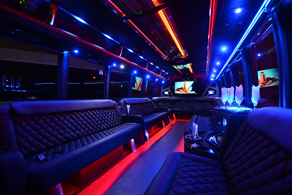 40 Person Party Bus Rental Mesa